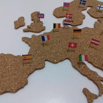 Mural de Cortiça Europa