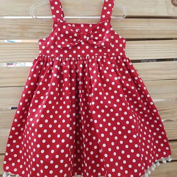 Vestidinho Minnie Verão