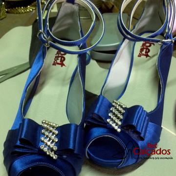 Sapato Encanto Azul Royal