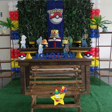 Locação decoração pokemon