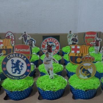 Cupcakes - Liga dos Campeões