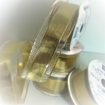Fita Decor. Dourada 36mm c/ 10m
