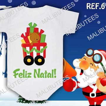 Body Natal Urso Carrinho Presentes