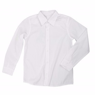 0280296948 Camisa Branca Social Infantil