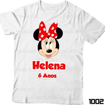 Camiseta Minnie Disney com Nome