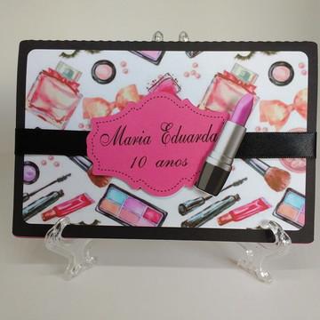 Convite Festa Maquiagem