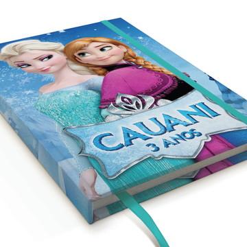 Caderno Frozen A5 Personalizado