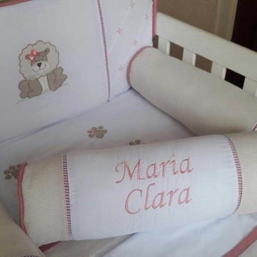 Kit berço rolo Maria Clara