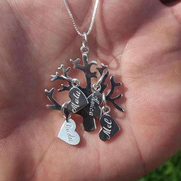Pingente Árvore da Vida em Prata