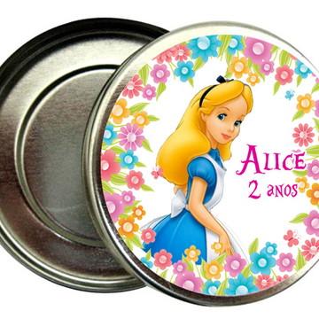 Lembrancinha Alice no Pais das Maravilhas