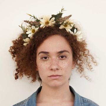 Acessório de flor para cabelo 006