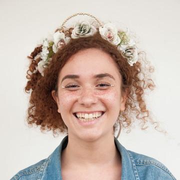 Acessório de flor para cabelo 008