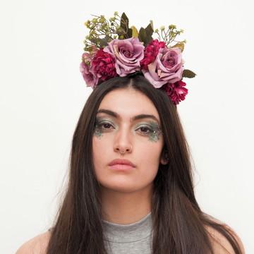 Acessório de flor para cabelo 009