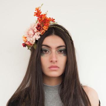 Acessório de flor para cabelo 012