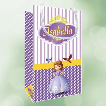 Sacola Personalizada Princesa Sofia Disney