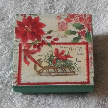 Caixa para lembrancinha Natal
