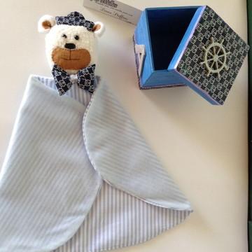 Naninha ursinho marinheiro na caixinha