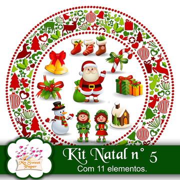 Kit digital elementos Natal n°5