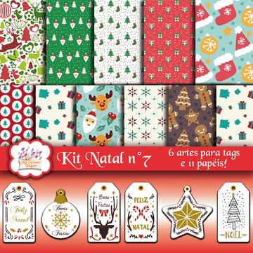 Kit digital elementos Natal n°7