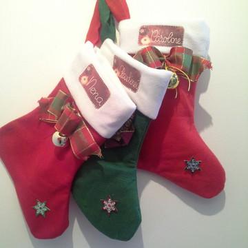 Botinhas de Natal para presentes