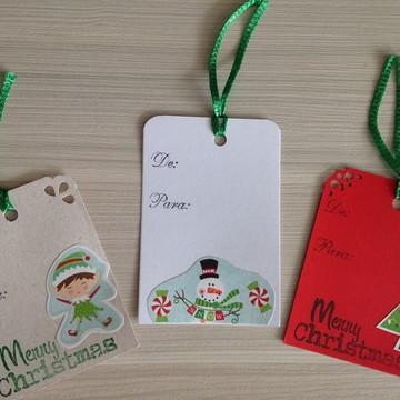Kit de tags para presentes