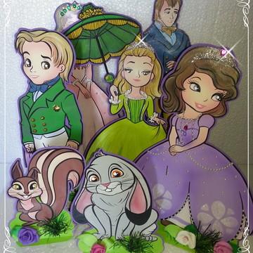 sofia princesa - kit de personagens