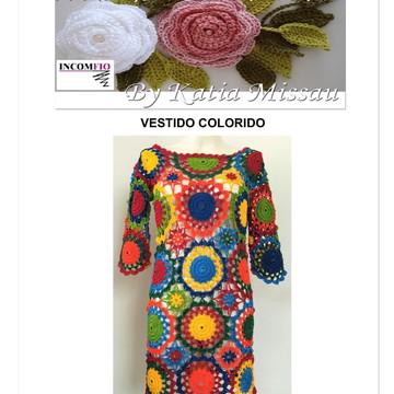 Receita Vestido Colorido - PDF