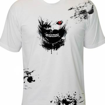 Camiseta Tokyo Ghoul Anime Mangá Otaku