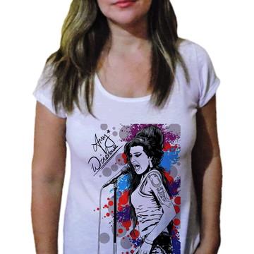 Camiseta Feminina Amy winehouse 29