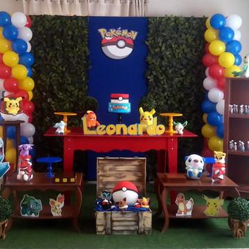 Decoração Festa Pokemon Provençal