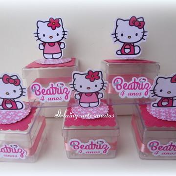 Caixa de acrílico Hello Kitty
