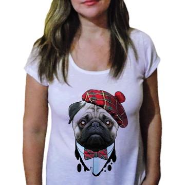 Camiseta Feminina Pets Sr Elegância