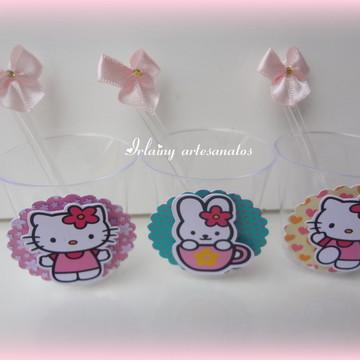 Copinho com colher Hello Kitty