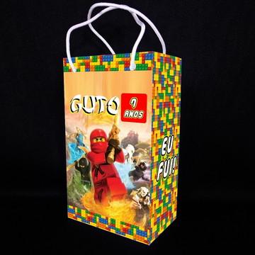 Sacolinha Lego Ninjago - Média