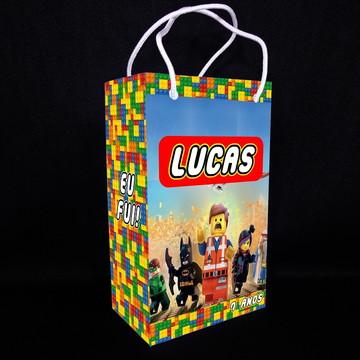 Sacolinha Personalizada Lego - Média