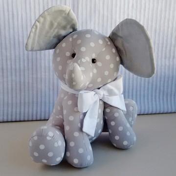 Elefantinho de tecido