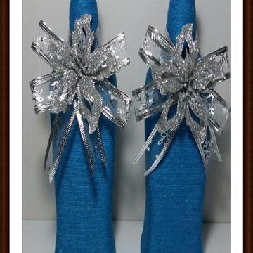 2 Garrafas de Natal Azul
