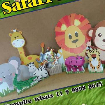 Kit em mdf - Safári Baby