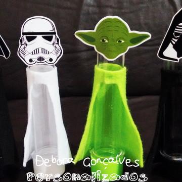Tubete personagens Star Wars