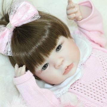 bebê reborn Shyann Wig-peruca