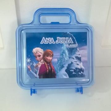 maletinha acrílica da Frozen