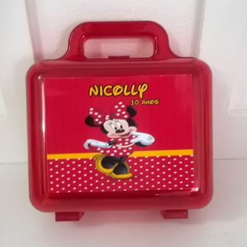 maletinha acrílica Minnie
