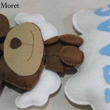 Enfeite porta de maternidade - Urso