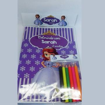 Princesa Sofia - Livro de colorir