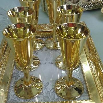 Mini Taça Dourada