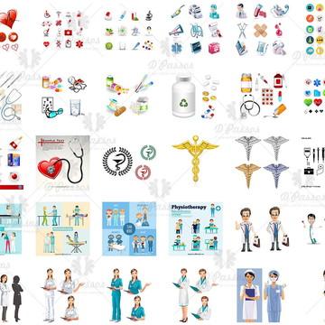 Kit Digital Arq.Corel Draw - Medicina