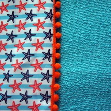 Canga toalha estrela do mar - Tamanho M