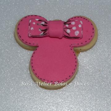 Biscoito decorado Minnie