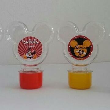 Tubete orelha do Mickey e da Minnie