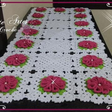 Trilho de mesa Flor Real
